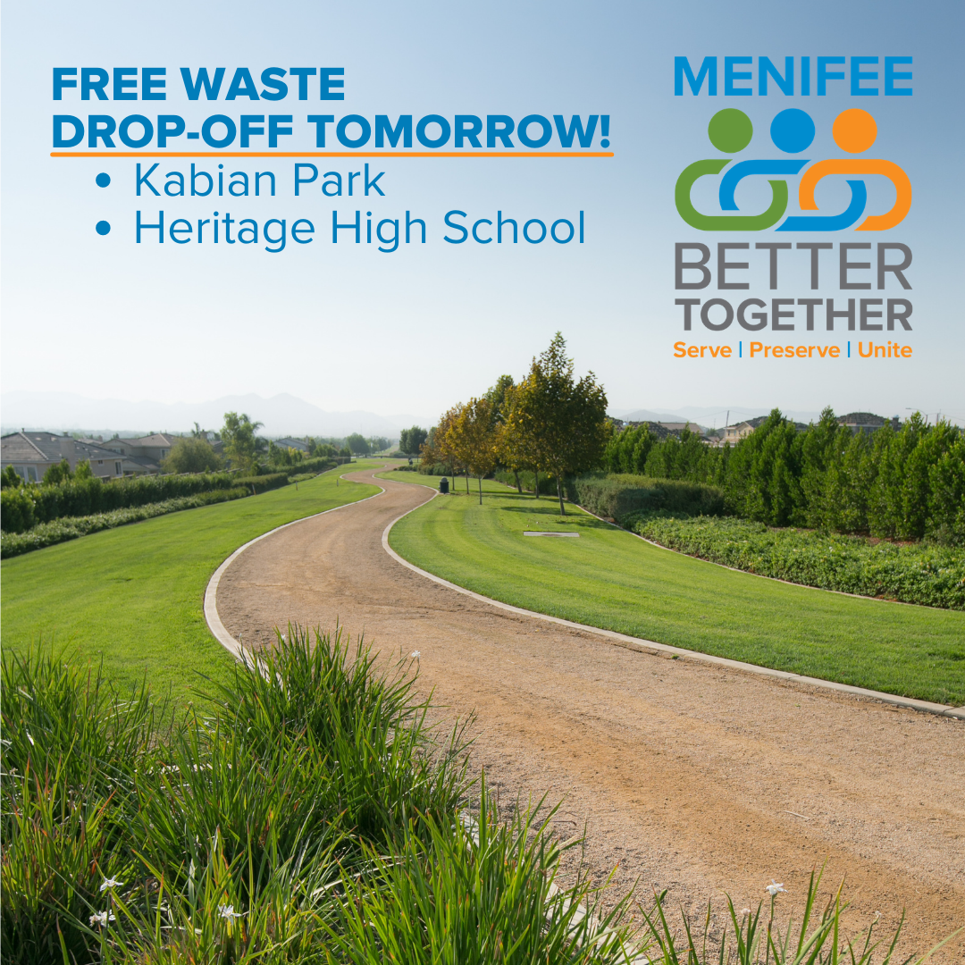Menifee Better Together Item Drop-off