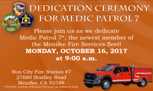 Dedication Ceremony For Medic Patrol 7
