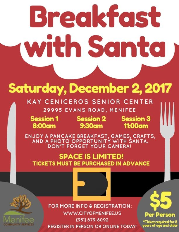 Breakfast with Santa Flyer 2017_001