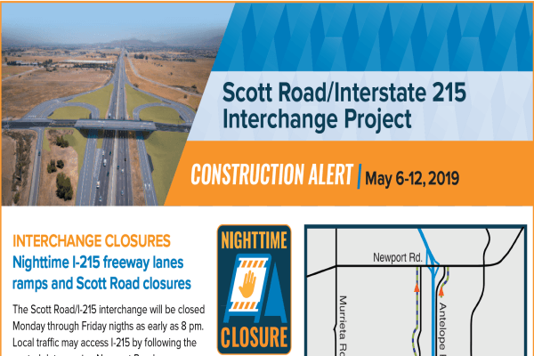 Construction Alert- April 22-28 - Thumbnail