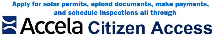 accela citizen access solar
